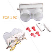 Motorcycle Rear Led Tail Brake Lights Taillamp Clear Fit Yamaha Yzf R1 1998-1999