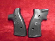 Crimson Trace Synthetic Laser Grips For A Smith And Wesson N-frame Revolver