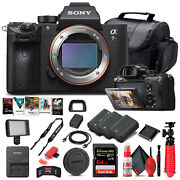 Sony Alpha A7r Iii Mirrorless Camera Body Only Ilce7rm3/b - Advanced Bundle