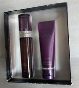 Victoria's Secret Basic Instinct Perfume And Body Lotion Gift Set New Discontinued