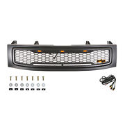 Eag Grill Led Grille Full Upper Front Replacement Fits Nissan Titan 04-07