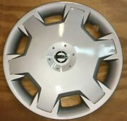 1 Hubcap 15 Inch Fits Nissan Versa And Cube 2013 Wheel Cover 53072