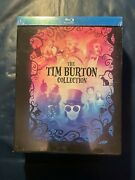 Tim Burton Collection Blu-ray Dvd, 7-disc Set, With Book New Factory Sealed