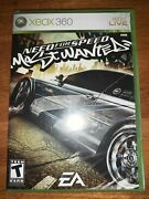 Need For Speed Most Wanted Microsoft Xbox 360 2005 Complete Video Game Sealed