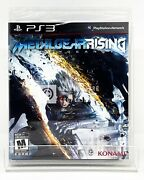 Metal Gear Rising Revengeance - Ps3 - Brand New   Factory Sealed
