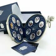 Niue Set Of 11 Coins The Doctor Who Colored Silver Coins 2013