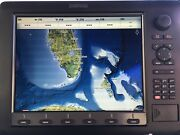 Simrad Nse12 Marine Radar Chartplotter With Power Cord And Cover