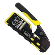 Klein Tools Ratcheting Cable Crimper/ Stripper/ Cutter For Pass-thru - Vdv226110