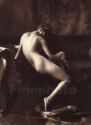 1925 Vintage Art Deco Female Nude Woman Germany Photo Gravure By Franz Grainer