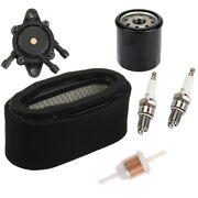 Air Filter And Fuel Pump 49065-7010 Oil Filter For Kawasaki 19-25hp V-twin Engine