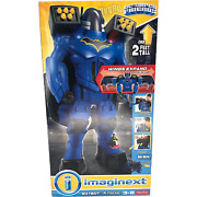 Nib Fisher Price Imaginext Batbot Extreme Dc Super Friends Over 2and039 Tall Batman