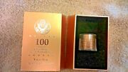 Ballistic Roll Of 1 James Madison Coins 12 Ea In Gold Brick Box - 100 Grams