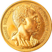 [905852] Coin Ghana 2 Pounds 1960 Ms Gold Km1