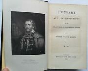 Hungary And It's Revolutions – E.o.s – 1st Edition 1898.