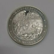 Franklin Mint History Of Us Sterling Silver Medal 1786 Shayand039s Rebellion
