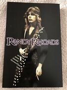 Randy Rhoads Bio / Photo Book Out Of Print New - Last Of Publisher Stock Rare