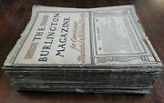 Burlington Magazine 1932 Complete Yearand039s Run 12 Issue Graphic Arts And Culture