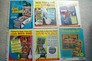 Bally Pinball Flyers-complete Set Of 94 Different 1977-97 Ss Flyers-pick-up Only