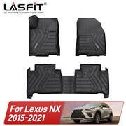 Lasfit All Weather Floor Mats For Lexus Nx200 Nx300 Nx300h 2015-2021 Tpe Liners