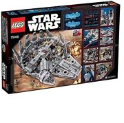 Lego Star Wars Millennium Falcon Space Ship Building Toy Collectable 75105
