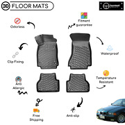 Vehicle Specific Rubber Floor Mat For Bmw 3 Series E36 1992 - 1998