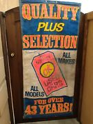 Vintage Chevrolet Ok Used Car Banner