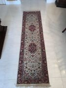 """Vintage 90s Abc Carpet And Home Oriental Runner Rug 2'3""""x8'6"""" - Pre Owned"""