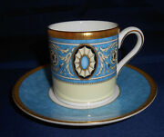 Wedgwood Bone China Madeleine Demitasse Cup And Saucer- New - Made In England