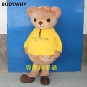 2020 New Bear Mascot Costume Suits Cosplay Party Game Dress Outfits Clothing Ad