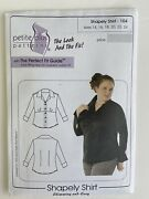 Petite Plus Shapely Shirt Pattern 104 Fitted For Stretch Fabric Slimming Sexy 14