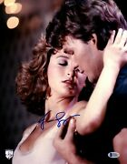 Jennifer Grey Signed Auto Dirty Dancing 11x14 Photo Official Pix And Bas Z53827