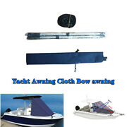 Bow Awning 600d T-top Boat Bow Sun Shade Top Mount On Tower Easily Fixed 4 Sizes
