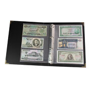 300 Sheets Paper Money Banknote Album Page Folders Storage Collection Supply