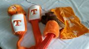 Lot Of 5 Pieces University Of Tennessee Golf Club Head Covers - With Golf Towel