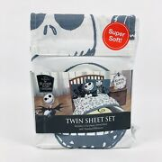 New, The Nightmare Before Christmas Sheet Set Twin