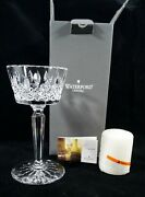 Mib Waterford Lead Crystal Lismore 9 Pillar Candle Holder Made In Ireland 1
