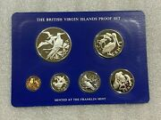 British Virgin Islands 1978 Proof 6 Coin Set 1.87 Asw Flawless Condition