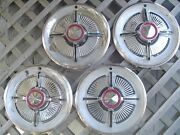 1965 65 Ford Galaxie Ltd Hubcaps Wheel Covers Center Caps Fomoco Vintage Classic