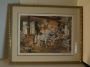Carousel Horses By Charles Peterson Signed Le 2223/2600