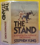 1978 The Stand Stephen King True First Edition 1st Print T39 Hardcover Book Dj