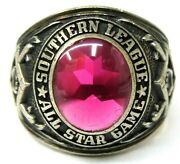 1970 Southern League All-star Game Minor League Baseball Sterling Silver Ring