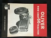 1948 New Oliver Row Crop 66 Tractor Full Color Illustrated Brochure Nm
