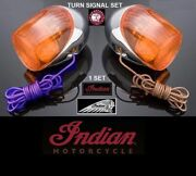 New - Gilroy Indian Scout Turn Signal 2000 - 2003 Gilroy Motorcycles Landr Sides