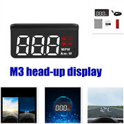 Universal Modified Portable M3 Abs+pc Head-up Display Car Display Led Backlight