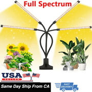 4 Heads 80leds Grow Light With Full Spectrum Plant Growing Lamp For Indoor Plant