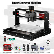 Grbl Laser Cnc Machine 3 Axis Pcb Milling Wood Router Engraver Offline Controls