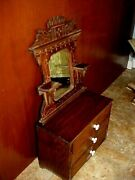 Antique Victorian Chest Of Drawers For Large Doll Or Salesmanand039s Sample