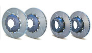 Girodisc Porsche 997 Turbo W/ Pccb Front 380mm Rear 350mm 2 Piece Floating Rotor