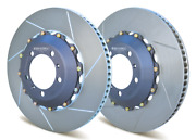 Girodisc Front 380mm 2 Piece Rotors For Porsche 997 Turbo Oem Pccb Cl Wheels