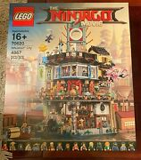 New Lego Ninjago City 70620 New In Sealed Both Boxes From Lego